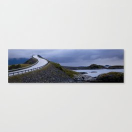 Atlantic Road's Canvas Print