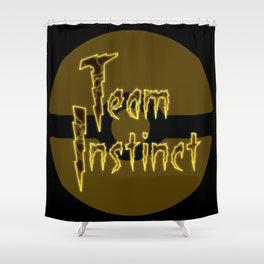 Team Instinct Shower Curtain