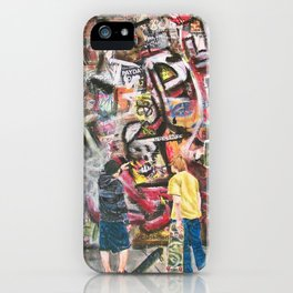 The Art Critics iPhone Case
