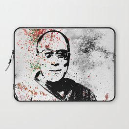 Dalai Lama-Watercolor Laptop Sleeve