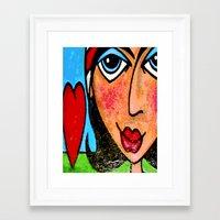 vendetta Framed Art Prints featuring VENDETTA by Laertis Art