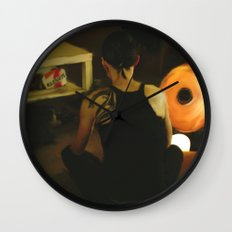 The Girl with the Dragon Tattoo: Lisbeth Salander Wall Clock