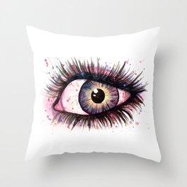 cosmic eye 2 Throw Pillow