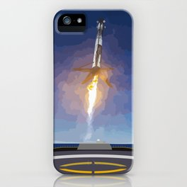 The Booster Has Landed iPhone Case