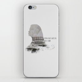 I have always been a storm. iPhone Skin