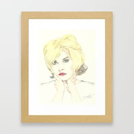 Debbie Harry Framed Art Print