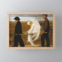 The Wounded Angel by Hugo Simberg, 1903 Framed Mini Art Print