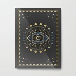The Third Eye or The Sixth Chakra Metal Print
