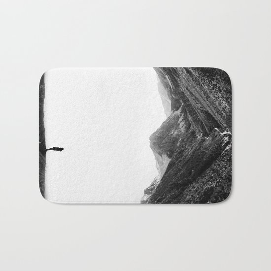 Lost in isolation Bath Mat