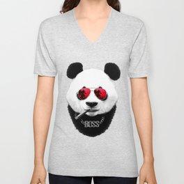 Panda Boss Unisex V-Neck