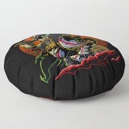 Samurai Viking | Warrior Ronin Berserk Armor Axe Floor Pillow