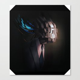 head test Canvas Print