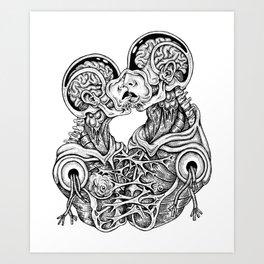 Alienar Art Print