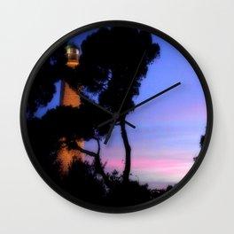 Cap Ferrat Lighthouse Wall Clock