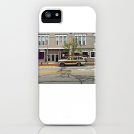 On the Way iPhone Case
