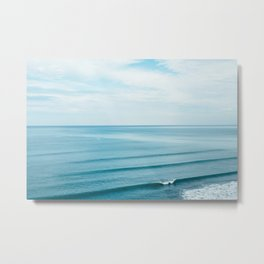 Pretty Waves Metal Print