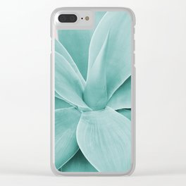 Blush Agave Romance #1 #tropical #decor #art #society6 Clear iPhone Case