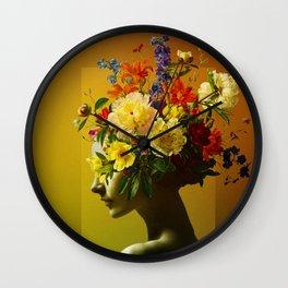 Human nature Wall Clock