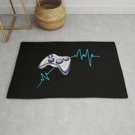 Gamer Heartbeat Rug
