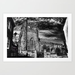 St Clement Hastings Art Print
