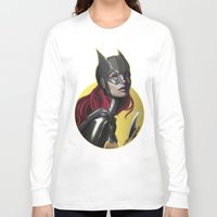batgirl Long Sleeve T-shirts featuring BATGIRL by corverez