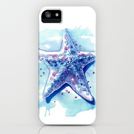 Starfish Waters I iPhone Case
