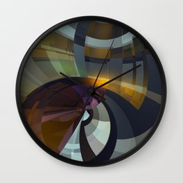 Abstract Composition 26 Wall Clock