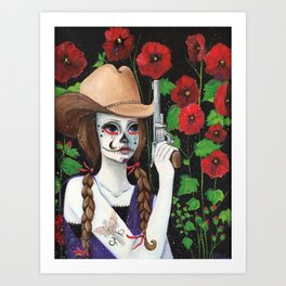 """It's A Cowgirl Thing"" Art Print"