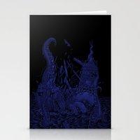 kraken Stationery Cards featuring Kraken by Salih Gonenli
