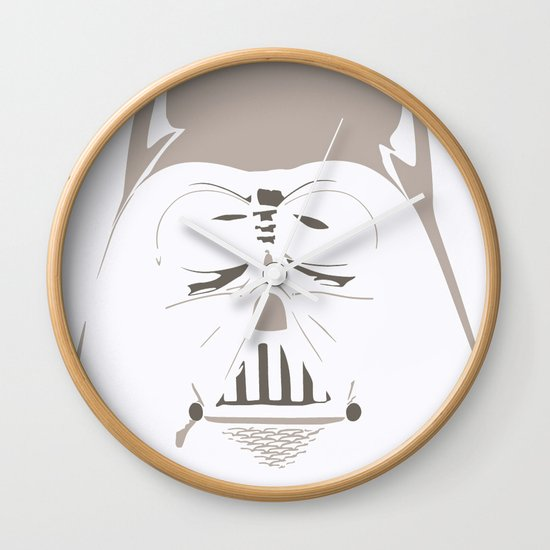 Ghost Darth Vader Wall Clock