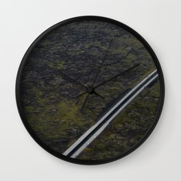 Meeting by chance Wall Clock