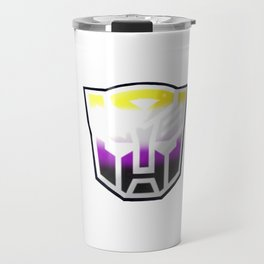 Autobot non binary flag Travel Mug