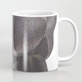 Black Iris Coffee Mug