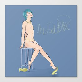Blueberry Pinup Canvas Print