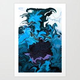 Arezzera Sketch #783 Art Print