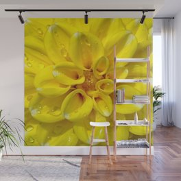Flowers and glitters Wall Mural