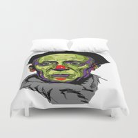 picasso Duvet Covers featuring P. Picasso by philip painter