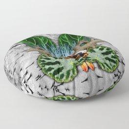 Begonia Being Floor Pillow