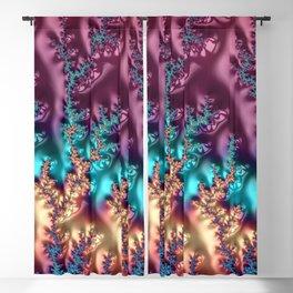 Rainbow Bright - Fractal - Spectrum - Manafold Art Blackout Curtain