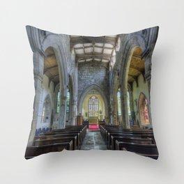 Unspoken Faith Throw Pillow