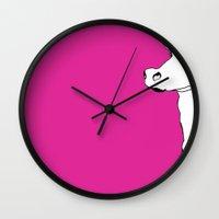 lawyer Wall Clocks featuring Bev by caseysplace