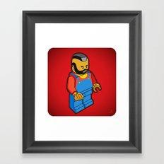 MR. T Framed Art Print