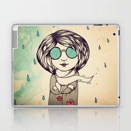 In the Rain Laptop & iPad Skin