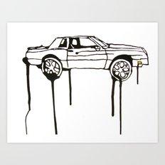 Scraper Art Print