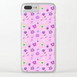 Sugar Witch Clear iPhone Case