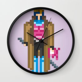 PixelWorld vol. 1 | Gambit Wall Clock
