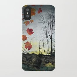October (Falling) iPhone Case