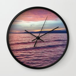 Silent sunrise Wall Clock