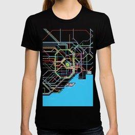 Tokyo Subway map T-shirt