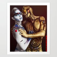 Be My Droid Art Print